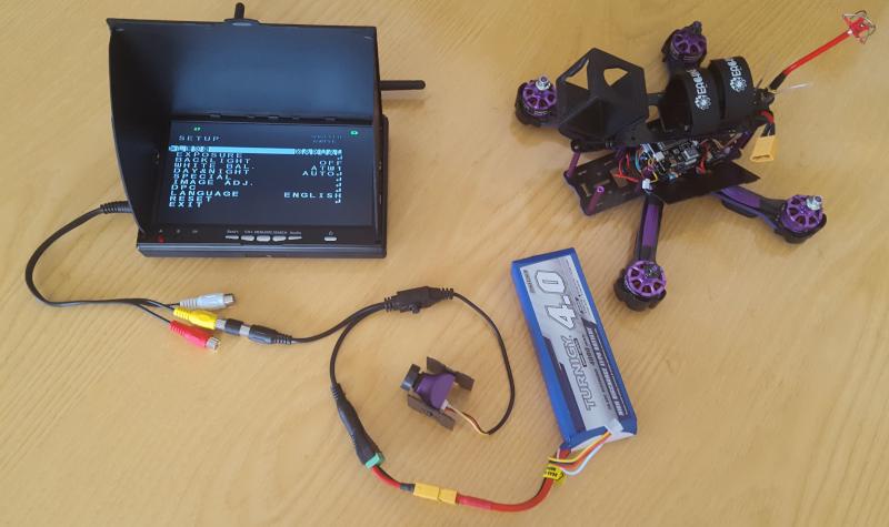 Eachine Wizard X220S 1179 FPV Camera Setup and Configuration