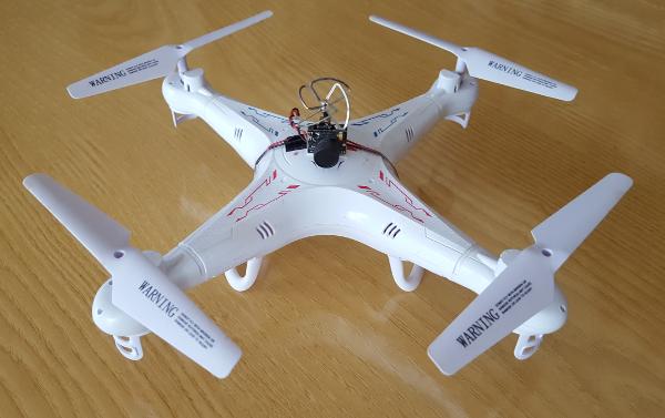 Syma X5C Explorers FPV Mod - Up In The Sky
